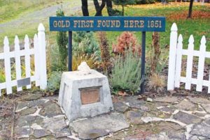 Gold discovery marker