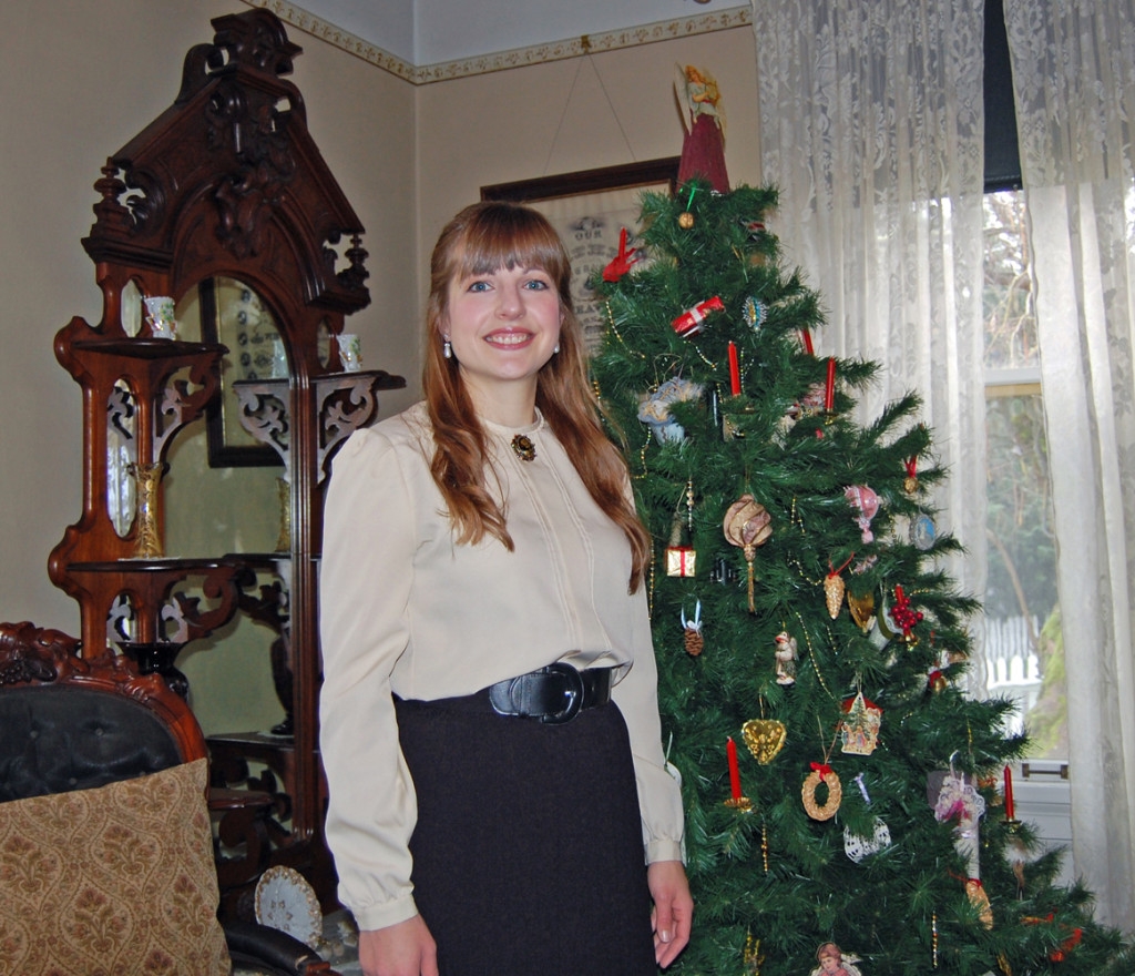 Christen with the Christmas Tree