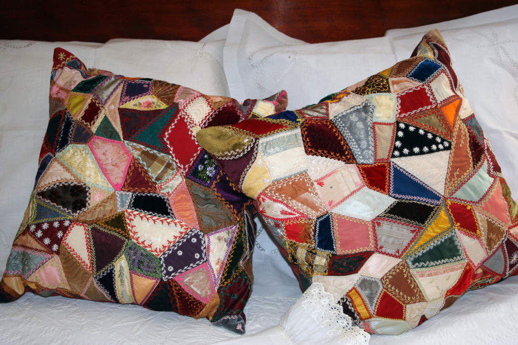 Beekman Crazy Quilt Pillows