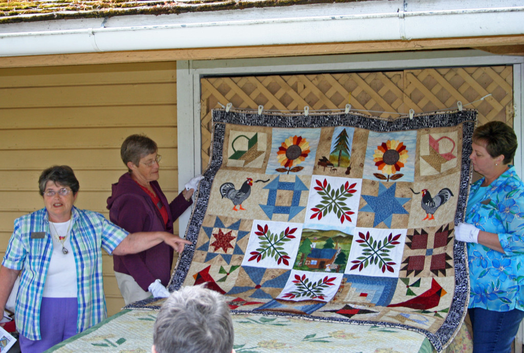 Quilters Bed Turning
