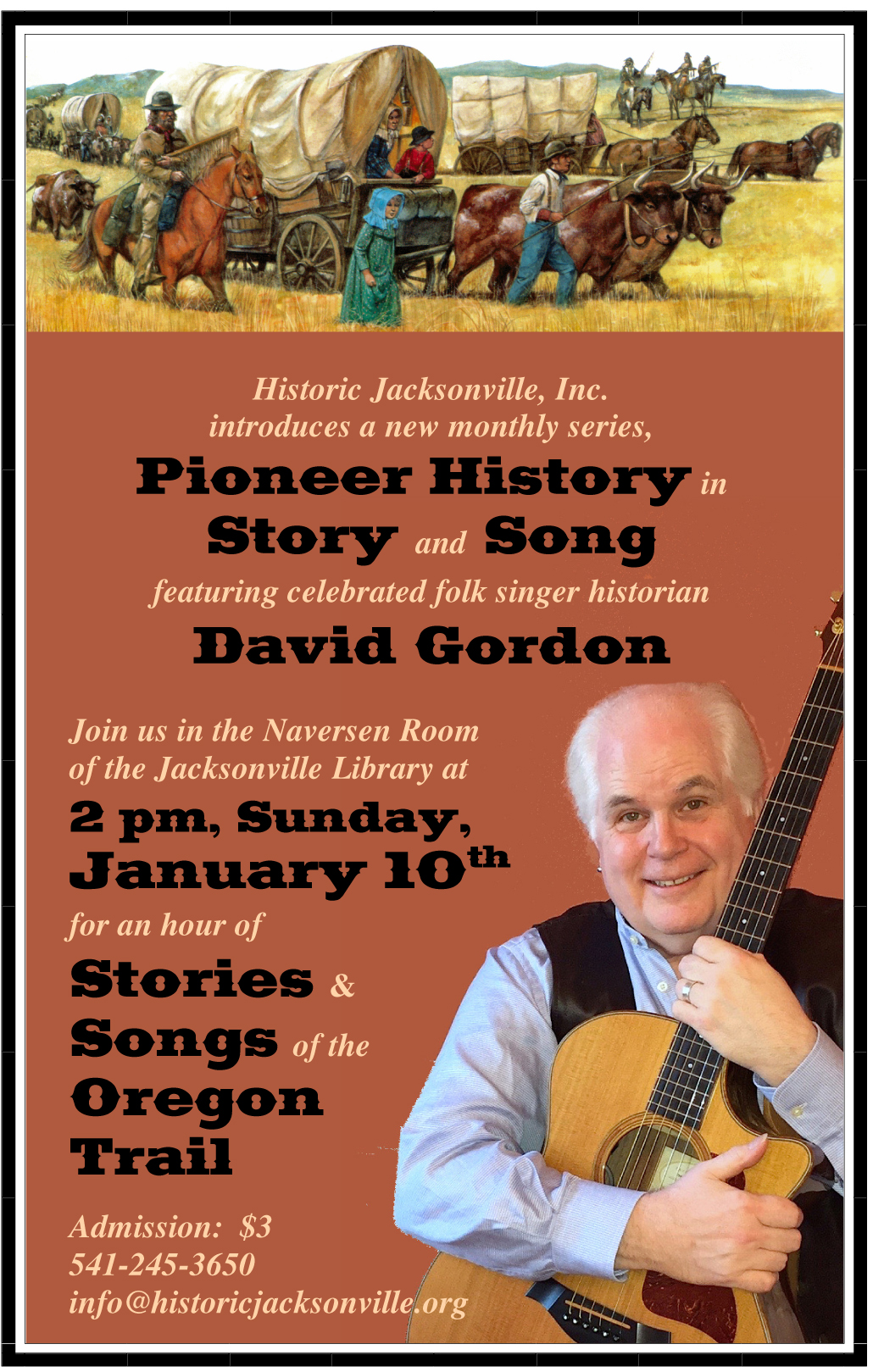 Story & Song-Oregon Trail-1-10-16