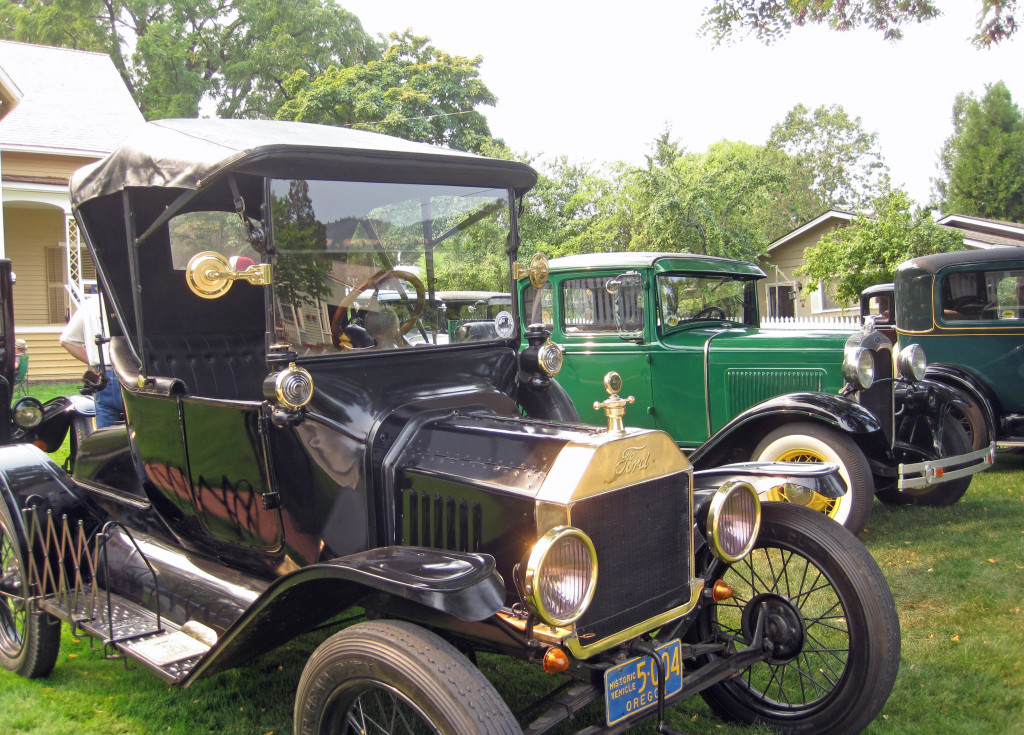 A Model T Joins the Model A's