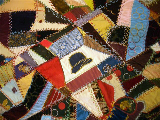 Ginger Rogers Crazy Quilt Riding Cap