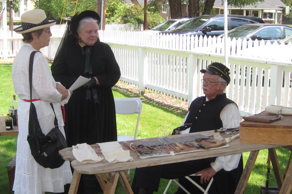 Cascade Civil War Society Doctor & Nurse