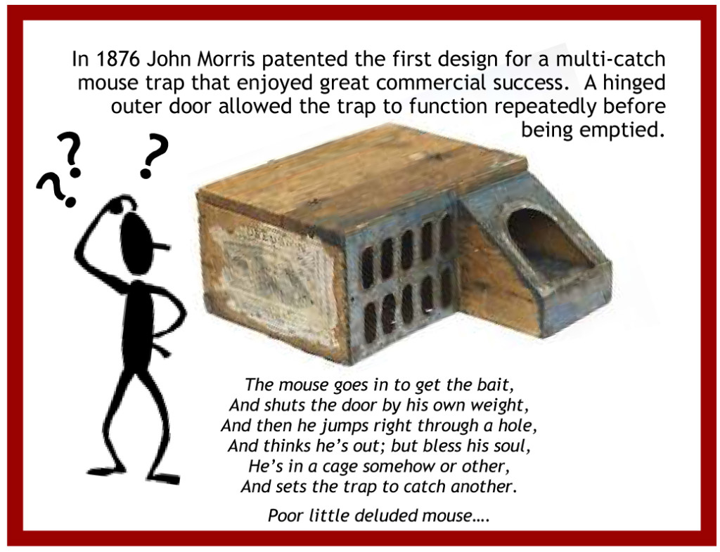 History Mystery Answer-Delusion Mouse Trap